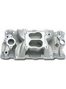 Edelbrock Air Gap Intake Manifold Suit Small Block Chevy 2601
