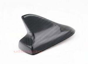 Universal Real Carbon Fiber Car Euro Style Shark Fin Roof Decoration Antenna