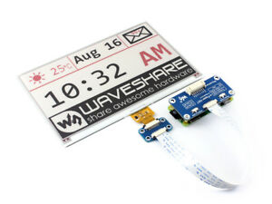 Waveshare 7 5inch E ink Display E Paper Hat For Raspberry Pi Rpi Spi Interface