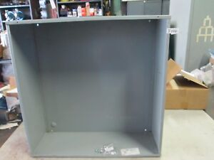 Hoffman Electrical Pull Box Enclosure Cat Ase24x24x8nk 24 x 24 x 8 new