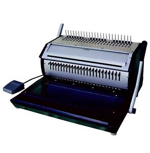 Demo Versabind e Electric Punch And Manual Binding Machine Binds Plastic