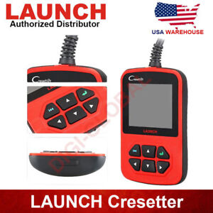 Launch Cresetter Oil Lamp Reset Tool Airbag Ecu Reset Obd2 Diagnostic Scan Tool