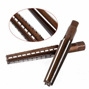 2pcs Mt2 Steel Morse Taper Hand Reamers Set For Milling Cutter Tool