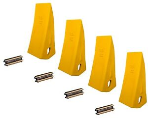 4 Backhoe Skid Bucket Tooth With Pins 230hx 230hxl 23 230 230s
