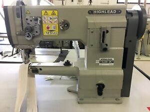Highlead Single Needle Small Cylinder Sewing Machine Gc2698 1bn W Motor
