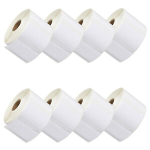 8 Rolls Multipurpose Label Compatible For Dymo Labelwriter 30334 2 1 4 X 1 1 4