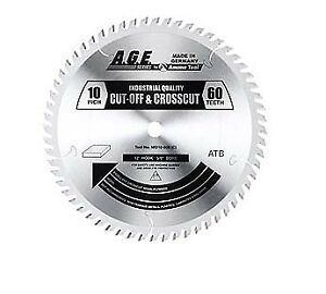 Amana Tool Md10 600 10 X 60 Tooth A g e Saw Blade Cut off And Crosscut