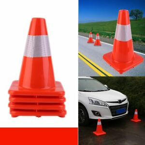 12 18 Safety And Security Cones Outdoor Games Sports Plastic Traffic Mx