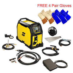 Esab Rebel Emp 235ic Mig stick tig Welding Machine W Foot Control