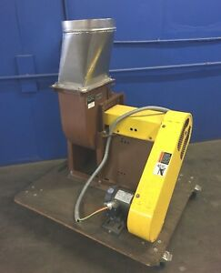 Greenheck 08 bisw 41 x 1 1 Industrial Exhaust Blower 1 2 Hp Leeson Motor