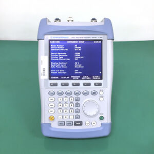 R s Fsh6 6hz Handheld Spectrum Analyzer With Opt Tracking Generator And Preamp
