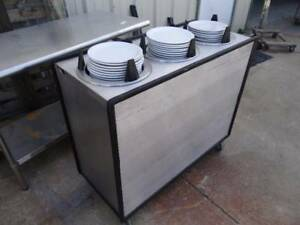 Apw Wyott Ml3 10 Mobile Plate Dispenser With 3 Enclosed Lowerators