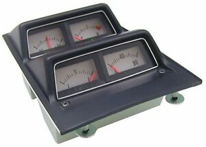 1968 1969 Camaro Console Gauge Assembly With Volt Gauge New Gm Licensed Correct