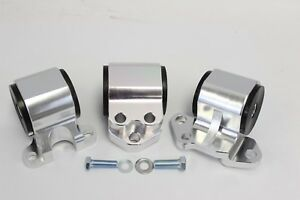 Billet Aluminum Engine Mounts Del Sol Civic 92 95 Integra 94 01 Eg Dc2 3 bolt Dc