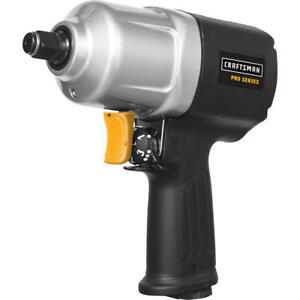 Craftsman 1 2 Inch Drive Pro Series Pneumatic Air Tool Impact Wrench Regulator