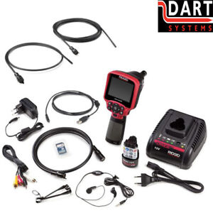 Ridgid Ca 350 Inspection Camera System 55903 deluxe Kit