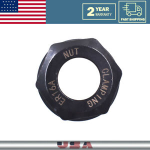 Er16 A Type Collet Clamping Nut Chuck Holder Er16a For Cnc Milling Lathe New