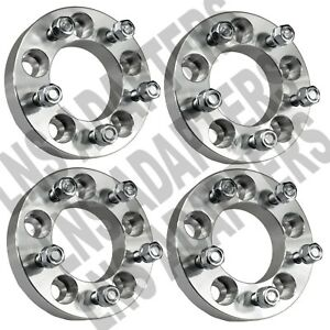 4 Pcs 38mm Wheel Adapters 5x4 5 To 5x5 5 Spacers 12x1 5 Studs