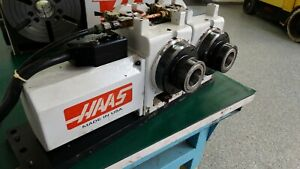 Used Haas T5c 2 Head 5c 4th And 5th 2 Axis Rotary Table Indexer Brush Servos