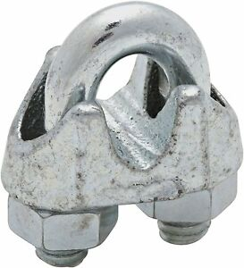Zinc Plated Wire Rope Clips cable Clamp
