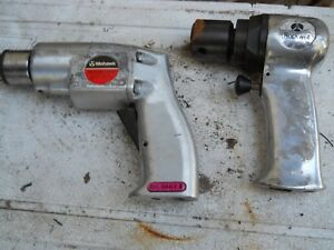 Mohawk 3 8 Air Drill Rockwell 18000 Rpm Sander Both New For One Money