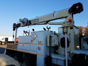 437b National Crane 37 Boom 20 000 Lbs Great Working Condition