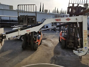Imt 5200 Articulating Crane 40 8300lbs Great Working Condition