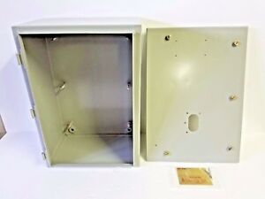 Heavy Duty Electrical Enclosure Box Metal Steel 20x14x8 By Drs Technologies