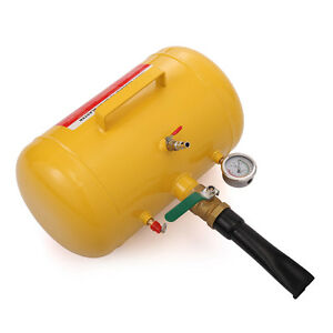 5 Gal Air Blaster Tire Inflator Yellow145 Psi Max Pressure