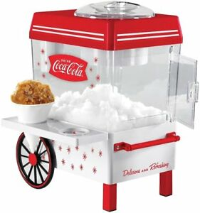 Nostalgia Electrics Snow Cone Maker Coca cola Series Shave Ice Machines Syrup