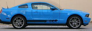 Running Horse Horses Rocker Decal Decals Stripes Fit Ford Mustang Saleen Cobra