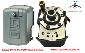 Square D By Schneider Electric 9013fhg42j59m1x Air Compressor Pressure Switch