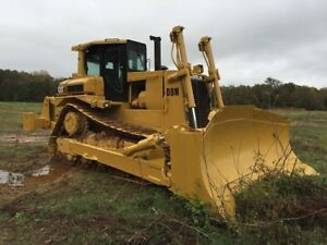 1989 Caterpillar Cat D8n Model Crawler Dozer