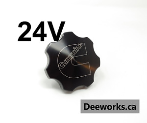 Anodized Billet Oil Cap For Dodge Cummins 24v Free Usa Shipping Black