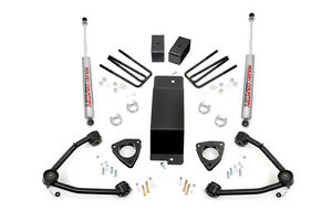 Rough Country 3 5in Gm Suspension Lift Kit W Upper Control Arms 07 13 1500 Pu