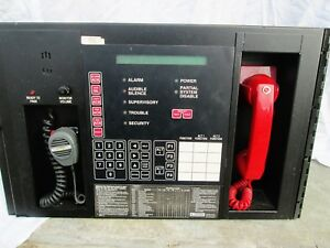 Siemens Mxl Fire Alarm Control Panel In Working Condition