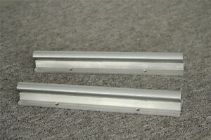 2x Sbr20 500mm Linear Rail Shaft Rod Fully Supported For Cnc Guide