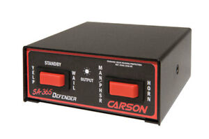 Carson Sa 365 Defender 100 Watt Siren Amplifier Switch Control Whelen Fed Sig