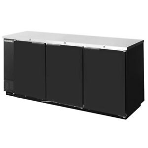 Beverage air Bb78 1 b 79 Solid Door Back bar Cooler Black
