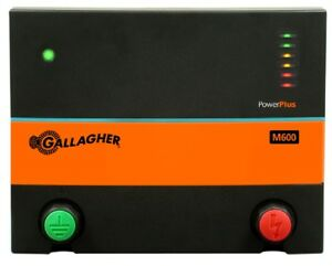 Gallagher M600 6 0 Joule Electric Fence Charger