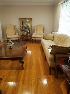 2 Queen Anne Chairs And Antique Couch For 450 00
