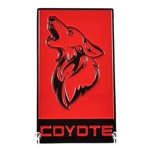 Gt350 Coyote Badge Mustang F150 Fits Grille Or Decklid All Metal 8 Colors