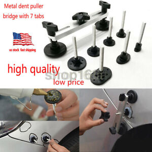Paintless Dent Repair Puller Bridge Pdr Tools Hail Damage Removal Auto Body Kits