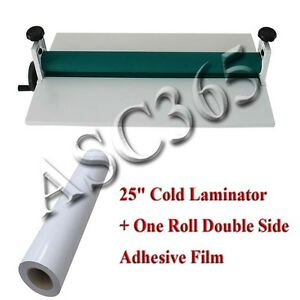 0 7 36yard Transparent Double Sides Adhesive Tape 25 Cold Laminator Manual