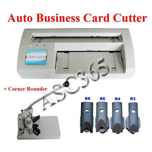 Corner Rounder electric Business Card Slitter 2000 Business Card Templates