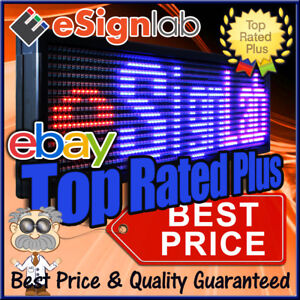 Led Sign 3 Color Rbp 15 X 65 Pc Programmable Scrolling Message Display