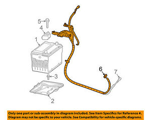 Gm Oem battery Cable 88987141