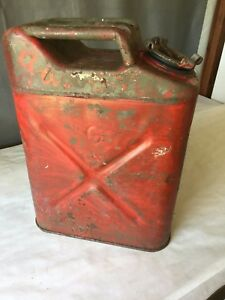 1943 Bennett Military 5 Gallon Jerry Gas Fuel Can