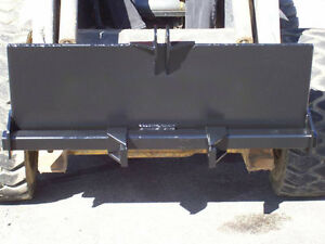 New Skid Steer 3 Point Attachment trailer Hitch backhoe bobcat kubota kmkwelding