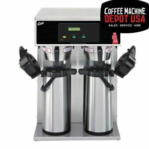 Wilbur Curtis G3 Airpot Twin 2 5l Commercial Espresso Brewer